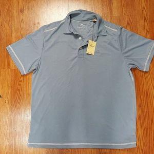 Tommy Bahama Polo Golf Shirt Sail Fish Blue Modal